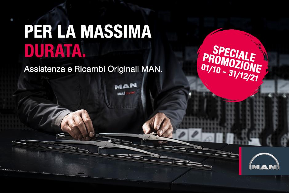 Speciale promozione MAN 01/10 - 31/12/2021